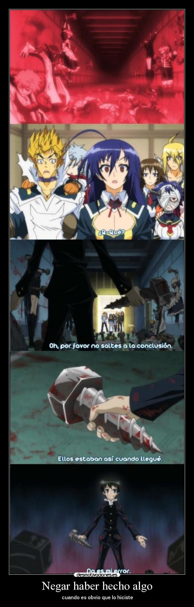 carteles anime shinigamisempai quite partes espero que borren kumagawa misogi medaka box desmotivaciones