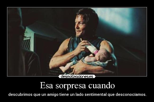 carteles rapyeah the walking dead daryl desmotivaciones
