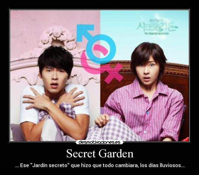 Secret garden desmotivaciones for Canciones de oska jardin secreto
