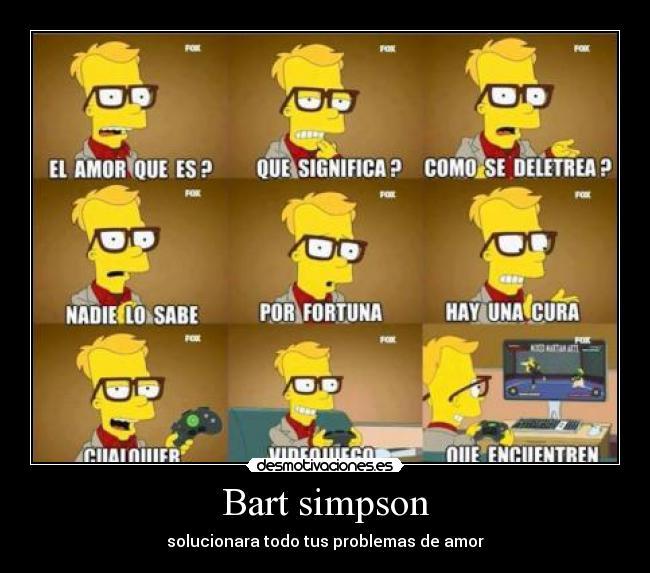 Bart simpson | Desmotivaciones
