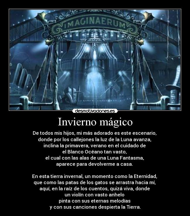 carteles tk73 unicorniosfelices nightwish taikatalvi imaginaerum desmotivaciones