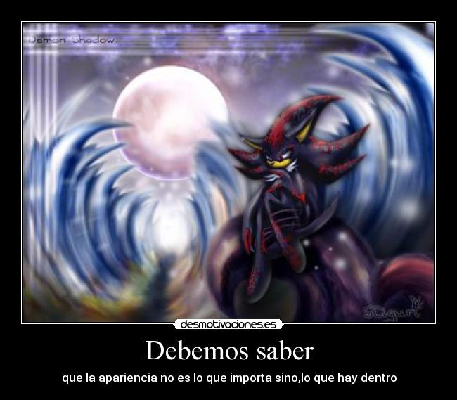 carteles shadow demon desmotivaciones