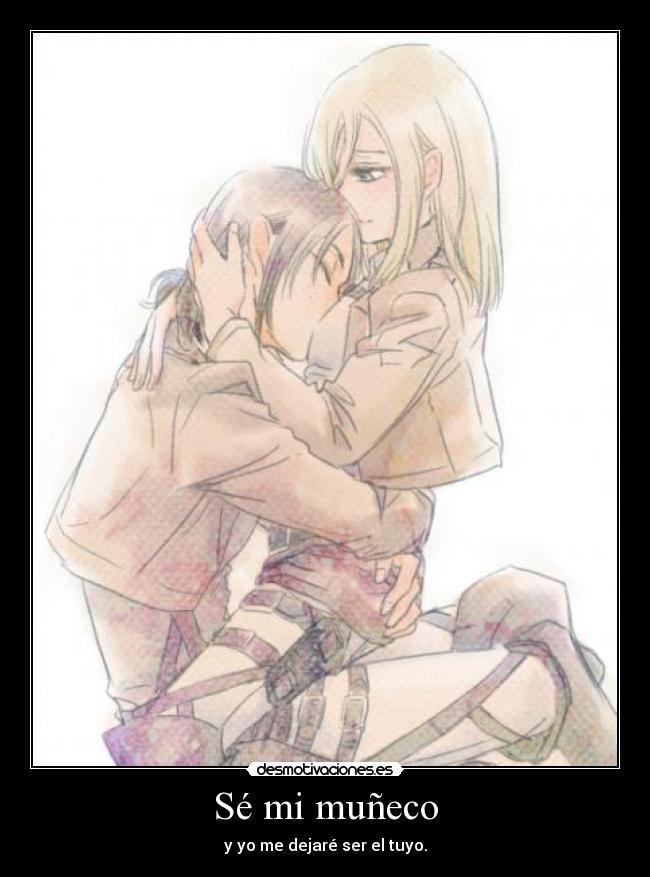 carteles raptorhunters nigatsu harukaze anime manga otaku shingeki kyojin yuri lesbianas amor love juguete desmotivaciones