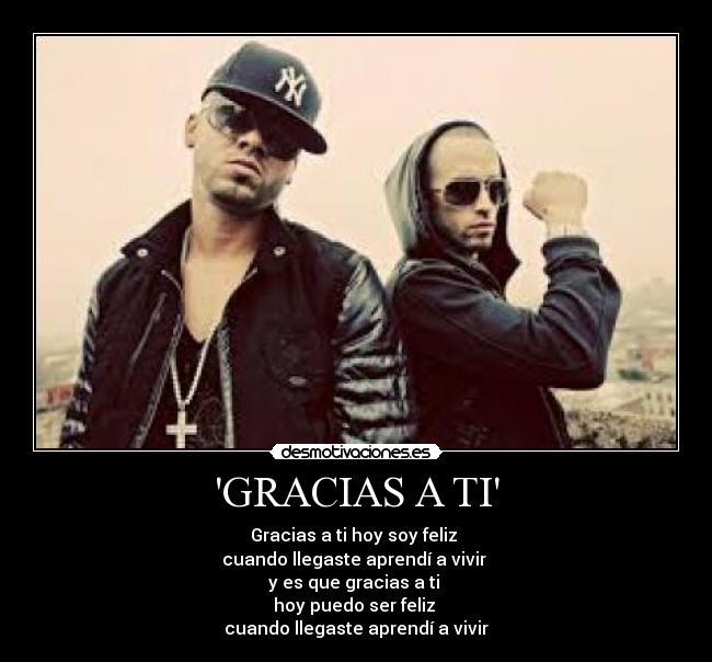 Wisin & Yandel – Gracias a Ti Lyrics | Genius Lyrics