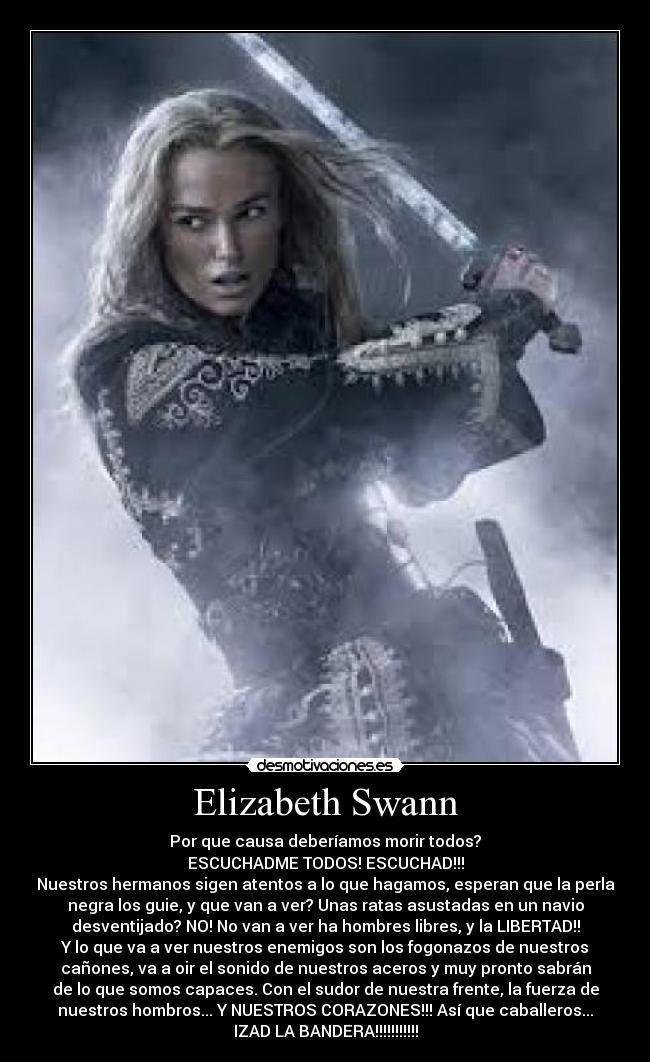 Elizabeth Swann Desmotivaciones
