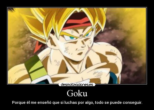 Goku Desmotivaciones