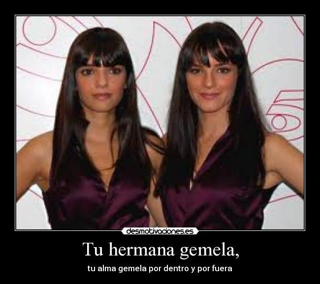 muerte de hermana gemela: