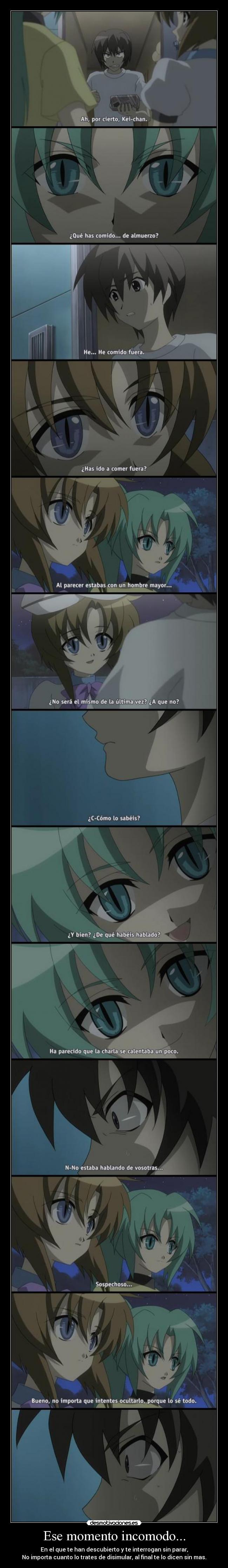 carteles higurashi naku koro anime jesshellscythe desmotivaciones