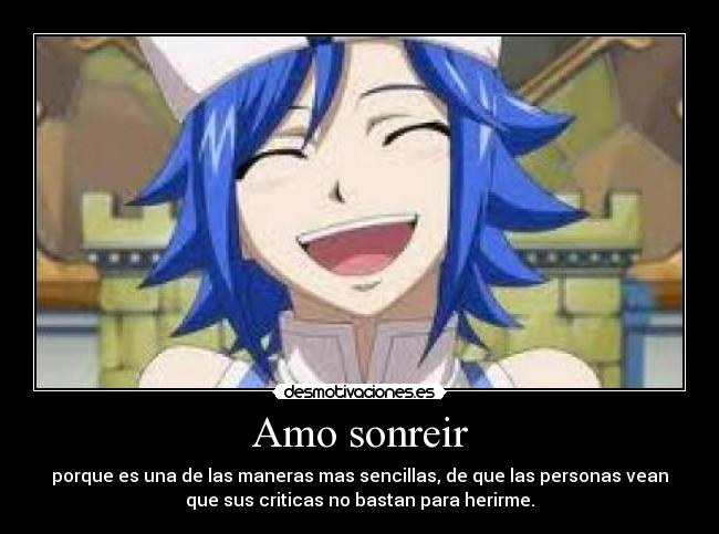 carteles anime fairytail fairy tail juvia loxar desmotivaciones