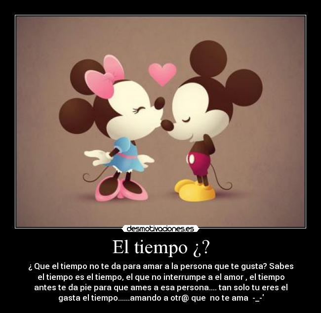 Imagenes De Minnie Y Mickey Enamorados Con Frases De Amor