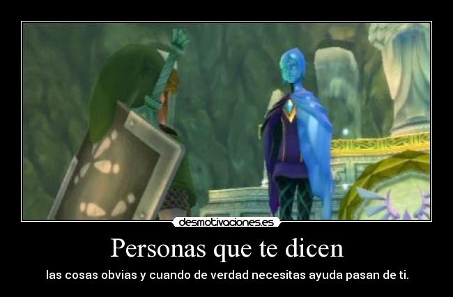 carteles rumble98 fay tloz the legend zelda skyward sword link desmotivaciones