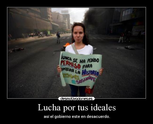 carteles venezuela sus universidades crisis desmotivaciones