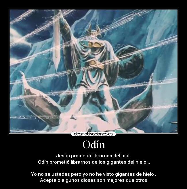 Image result for odin prometio liberarnos de los gigantes de hielo