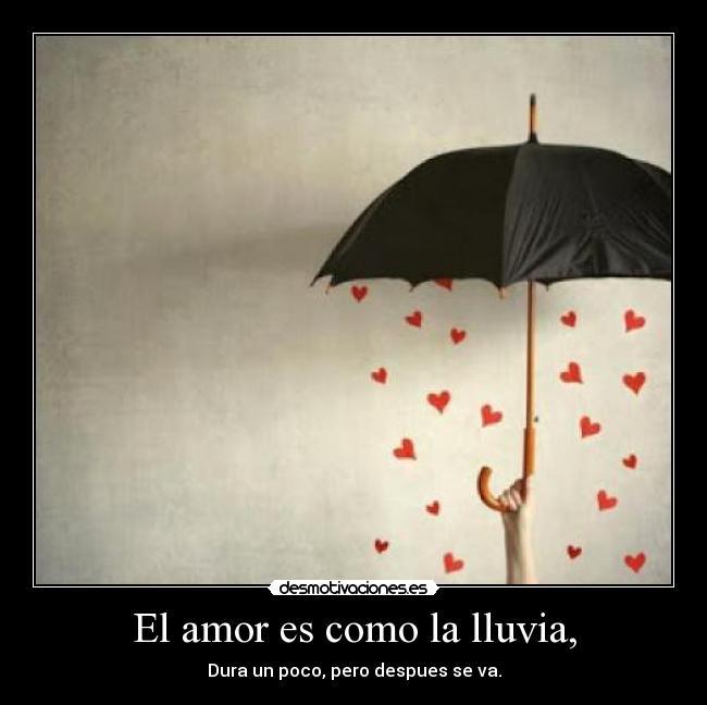 Paraguas Del Amor Amor Lluvia Paraguas Mano