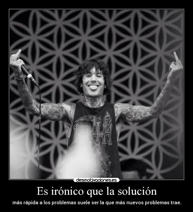 carteles but dont give fuck anyway cartelito con foto oliver sykes para redandyellow ewe grrr wiiiiiii desmotivaciones
