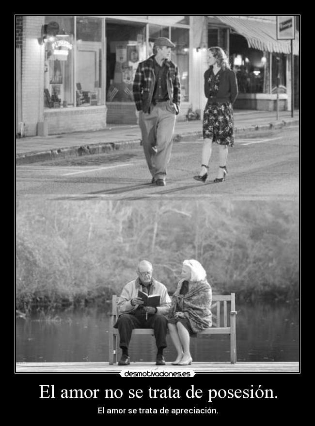 carteles amor amor trata desmotivaciones
