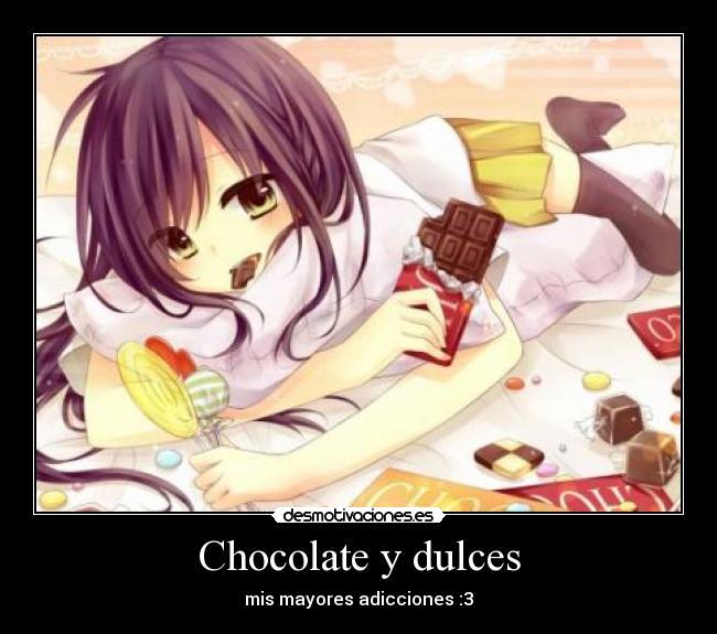 Cosas dulces para tu chica
