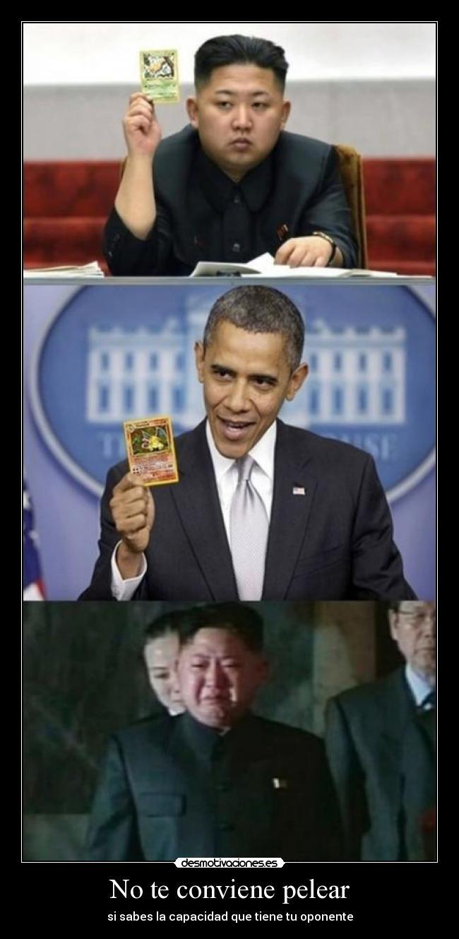carteles pokemon devilbrigade charizard venusaur pokemon corea del norte estados unidos cartas desmotivaciones