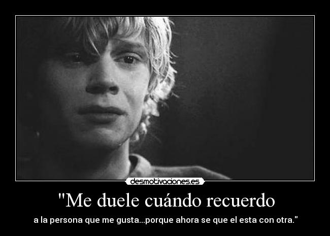carteles tate langdon american horror story cry sad hurt monochome black and white tumblr need stronger desmotivaciones