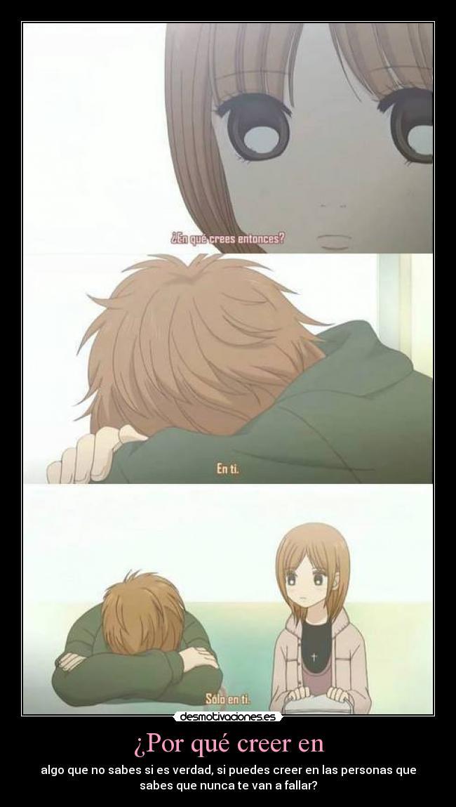 carteles bokura ita anime amor creer personas desmotivaciones