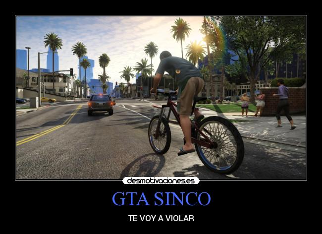 GTA SINCO - TE VOY A VIOLAR