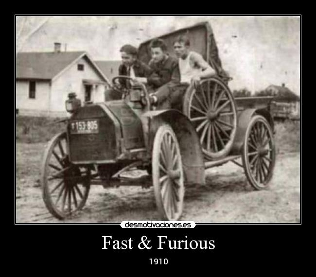 Fast & Furious - 1910