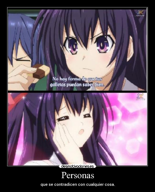 carteles shinigamixlll colwuwboaonwtoiopwaoion anime manga datealive date live tohka shido makalove97 ewe desmotivaciones