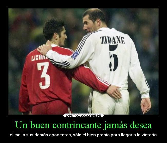 carteles deportes zidane los jugadores futbol que mas han gustado desmotivaciones