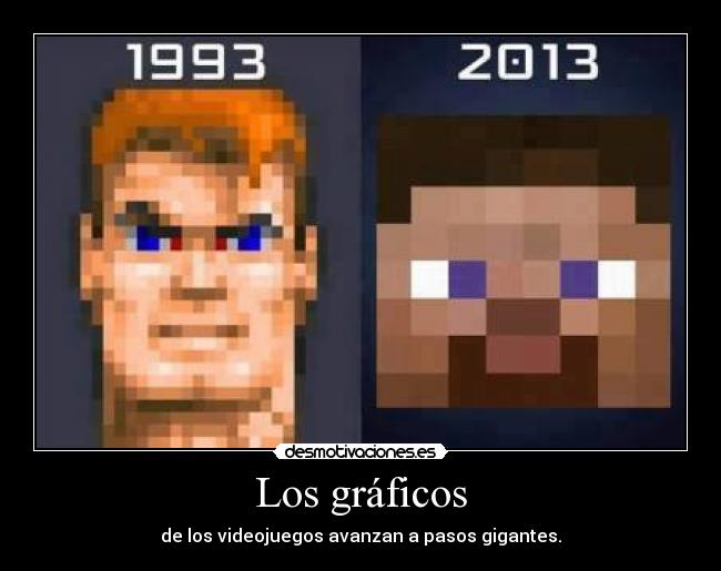 Minecraft 110 Videojuegos: Los Gráficos