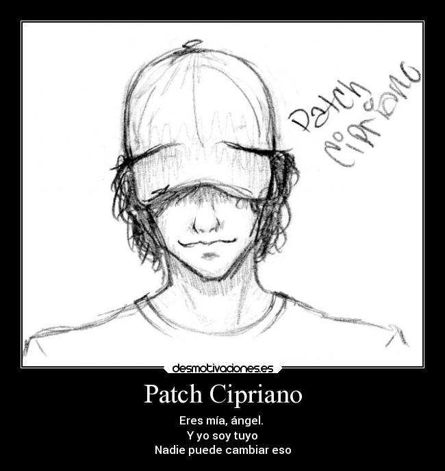 Hush Hush Patch Cipriano