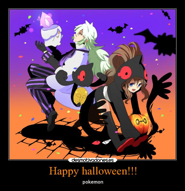 Happy halloween!!! - pokemon