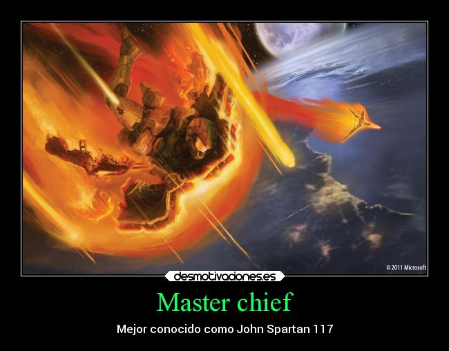 Master Anime Carteles Anime Halo Master