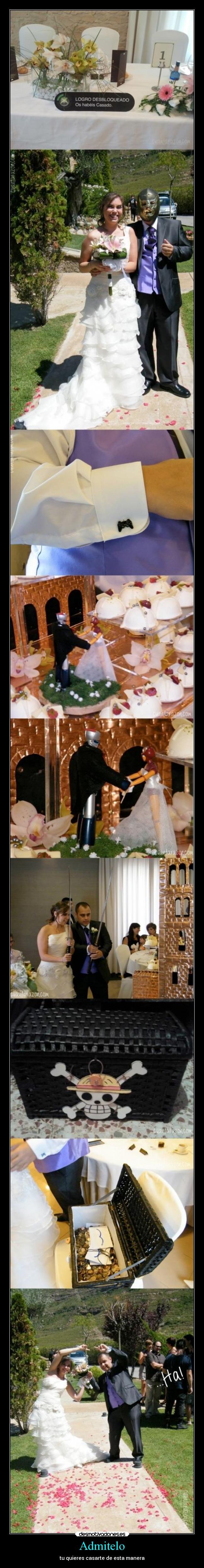 carteles anime boda frikis otakus goku desmotivaciones