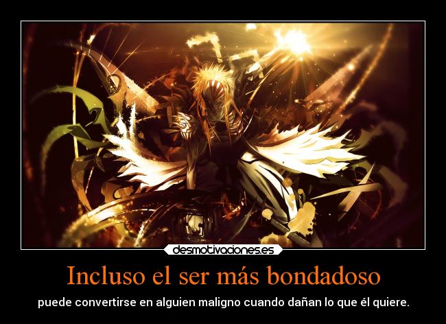 carteles bleach hollow ichigo anime desmotivaciones