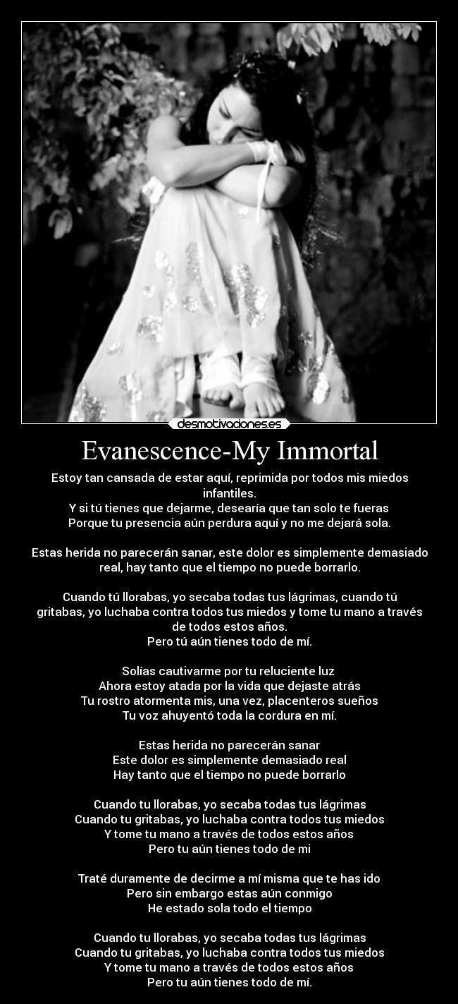 espanol my inmortal: