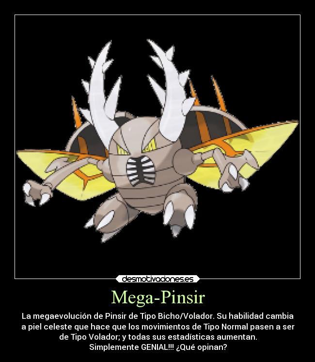Mega-PinsirPokemon Pinsir Mega