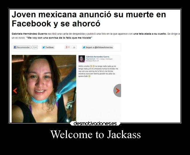 Welcome to Jackass -