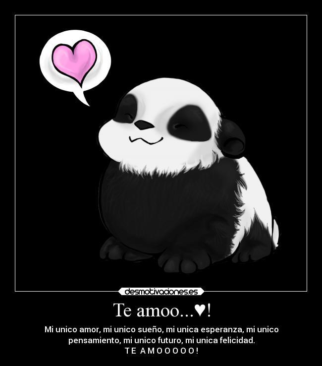 Te amoo...♥! | Desmotivaciones