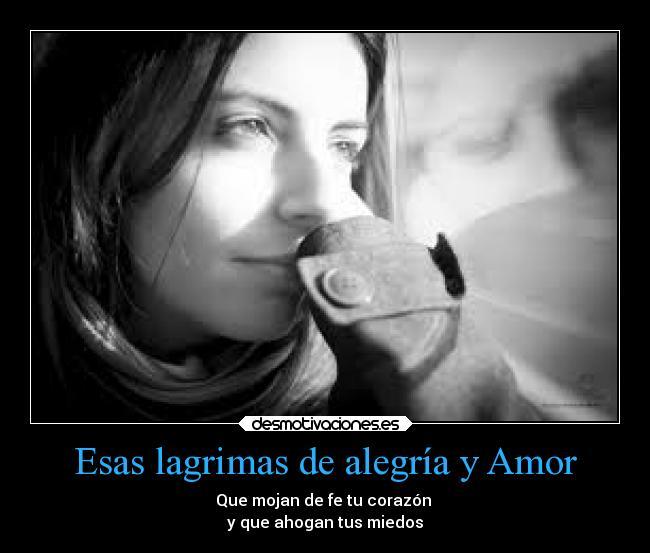 lagrimas amor: