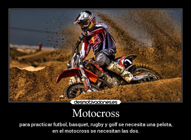 Motocross | Desmotivaciones