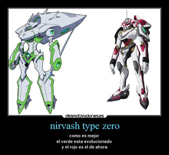 Nirvash Type Zero Desmotivaciones