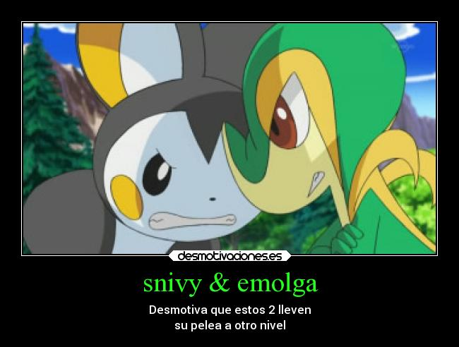 Pokemon Snivy X Emolga Images | Pokemon Images