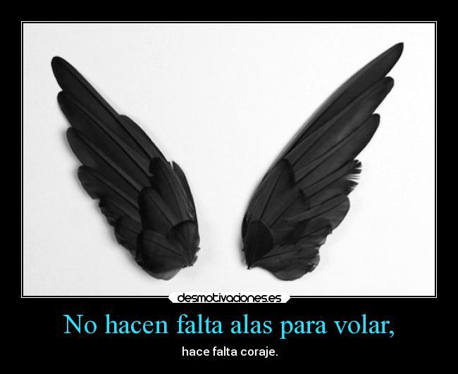 No Hacen Falta Alas Para Volar Desmotivaciones