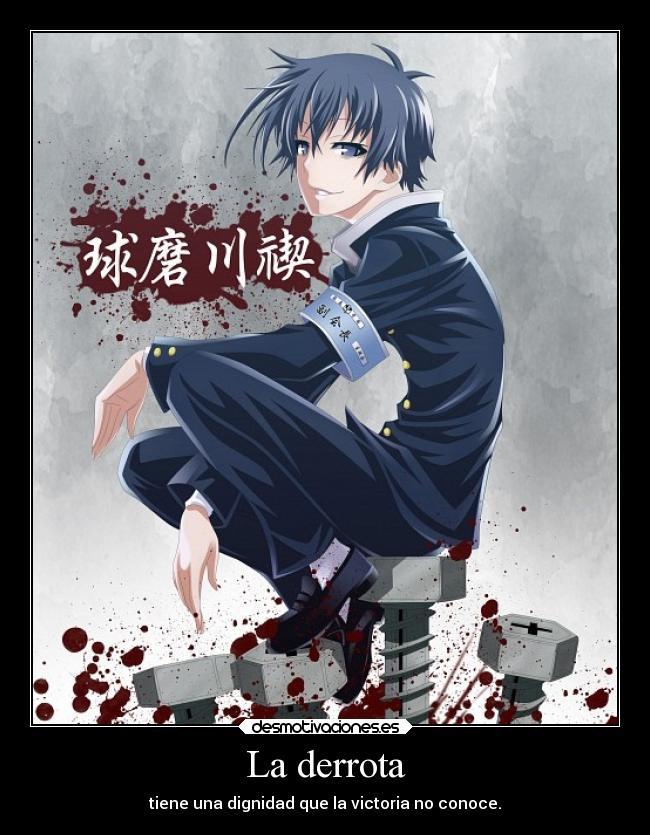 carteles anime medaka box misogi kumagawa desmotivaciones