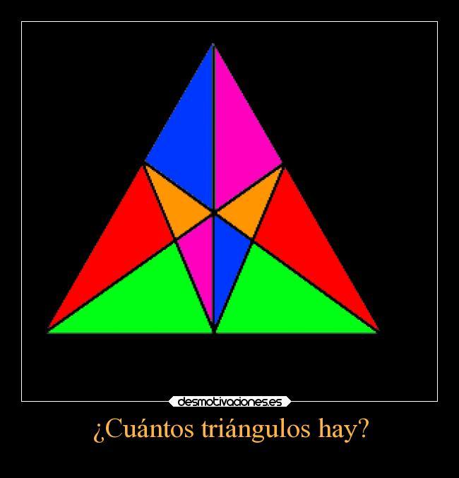 Pin cuantos triangulos hay misdebereses on pinterest for Cuantos codones existen