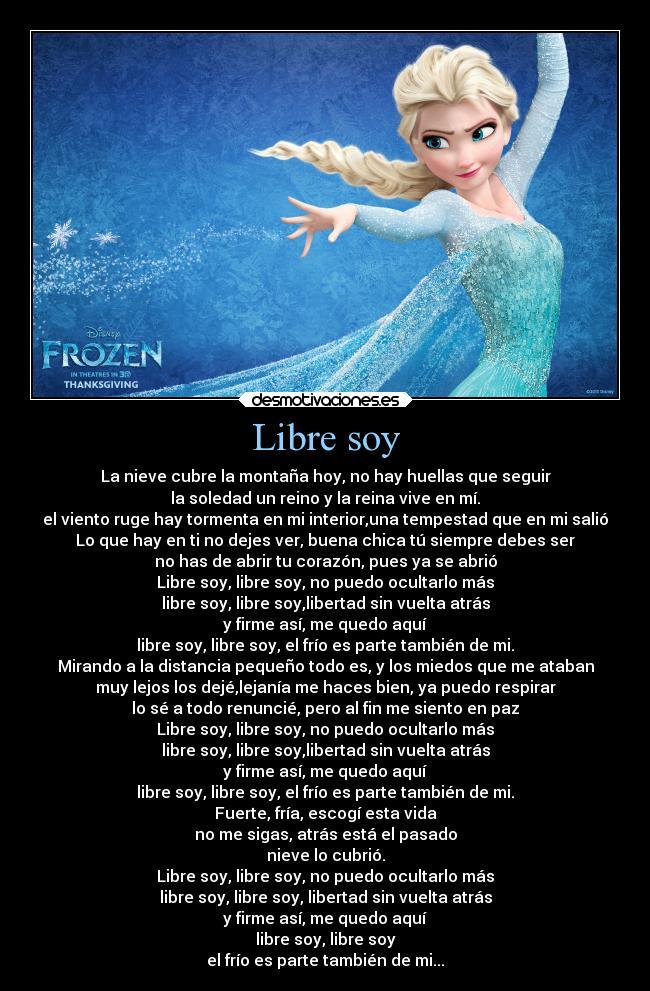 Martina Stoessel interpreta el tema 'Libre soy' de 'Frozen