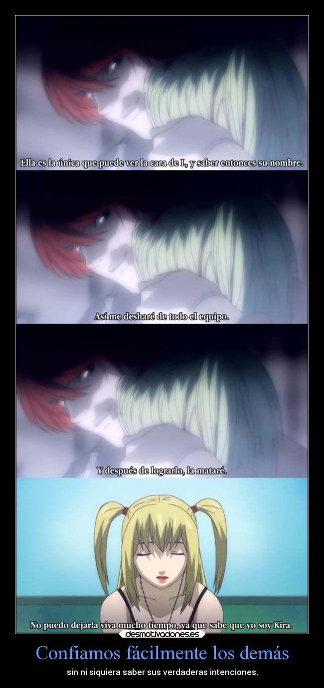 carteles death note light misa clandominadores ejercitodemar desmotivaciones