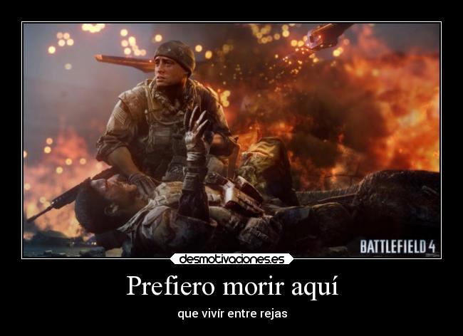 carteles spacedemon anime battlefield puedo matar miles soldados con machete juguete desmotivaciones