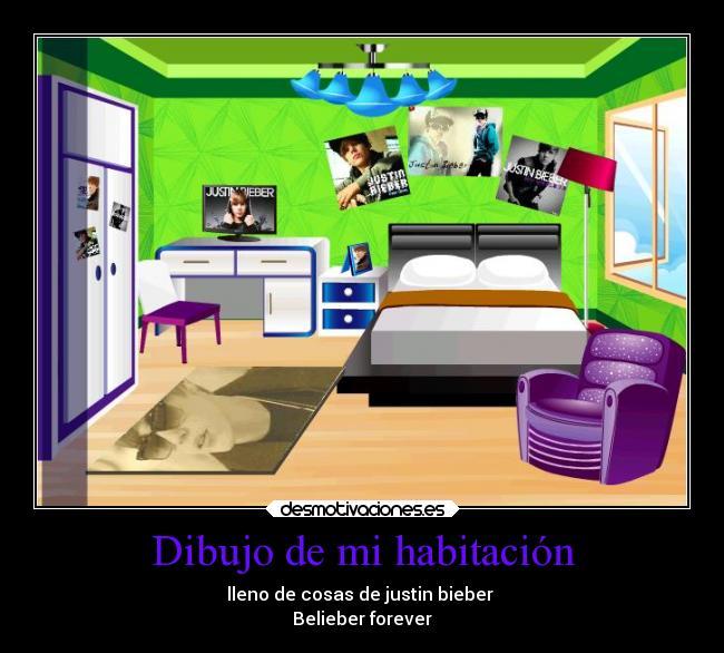 Dibujo de mi habitaci n desmotivaciones - Habitacion para colorear ...