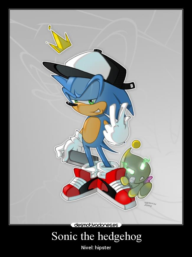 Sonic the hedgehog - Nivel: hipster